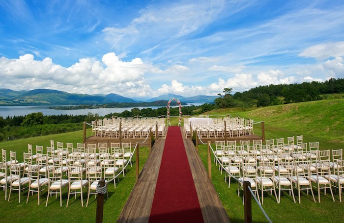 Boturich Castle Wedding Venue Loch Lomond Scotland